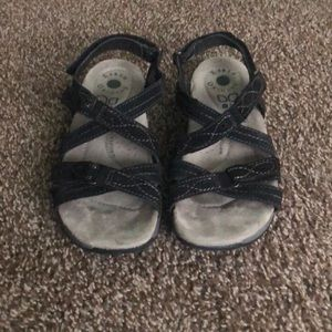 Gently used hiking sandals
